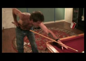 Troy Playing Pool