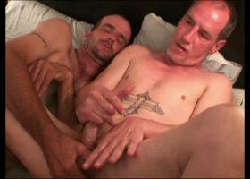 Cash and Scott Jack-Off Together