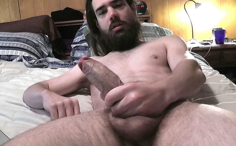 Squirting Cum In His Beard – Zack Randall